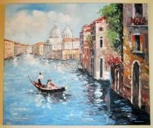 Picturi cu peisaje Peisaj in venetia