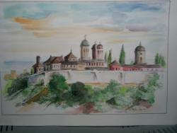 Picturi cu peisaje Manastirea Vacaresti