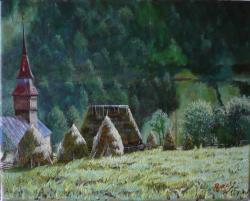 Picturi cu peisaje La Vinta, Geamana
