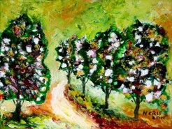 Picturi cu peisaje Peisaj abstract 2