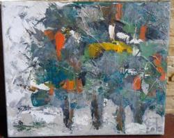Picturi cu peisaje Amintirea padurii