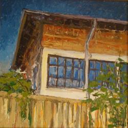 Picturi cu peisaje Ochii casei