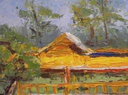 Picturi cu peisaje Refugiu in liziera