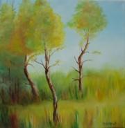 Picturi cu peisaje Copaci 1