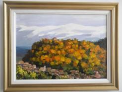 Picturi cu peisaje Cisnadioara