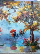 Picturi cu peisaje In parc