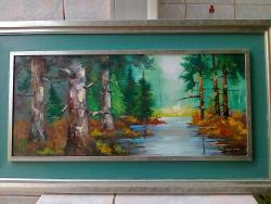 Picturi cu peisaje peisaj de poveste