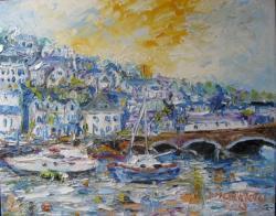 Picturi cu peisaje LOOE (UK)