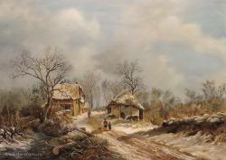 Picturi cu peisaje Dan Scurtu - Rep F. M. Kruseman