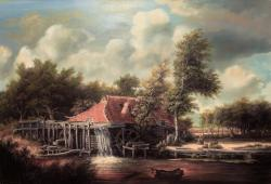Picturi cu peisaje Hobbema's Mill