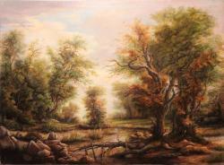 Picturi cu peisaje Old Forest