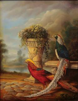 Picturi cu peisaje Pheasants