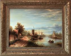 Picturi cu peisaje Rep. dupa J. J. Spohler