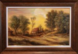Picturi cu peisaje Rural Scene