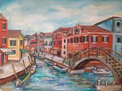 Picturi cu peisaje Peisaj venetian
