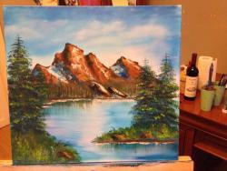 Picturi cu peisaje BorR