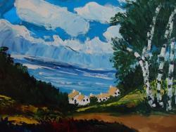 Picturi cu peisaje valea sperantei cod 0034