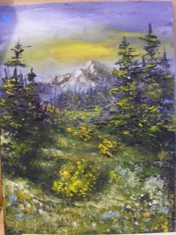 Picturi cu peisaje Amintiri din vacanta 2016