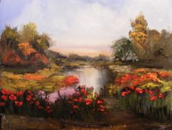 Picturi cu peisaje Asteptarile verii