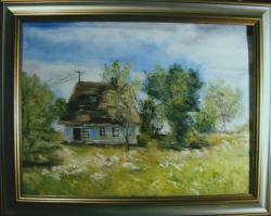 Picturi cu peisaje Casa parasita