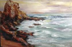 Picturi cu peisaje Colt de mare
