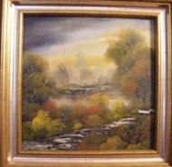 Picturi cu peisaje Inspiratie tomnatica