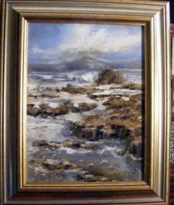 Picturi cu peisaje Laguna albastra