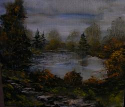 Picturi cu peisaje Locul stiut