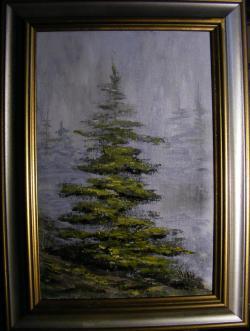 Picturi cu peisaje Marele singuratic