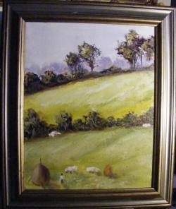 Picturi cu peisaje Micul pastor