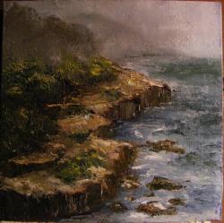 Picturi cu peisaje Pe coasta