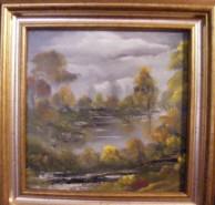Picturi cu peisaje Vine furtuna
