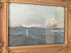 Picturi cu peisaje Marea involburata