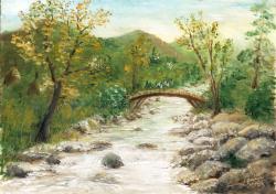 Picturi cu peisaje apa de munte
