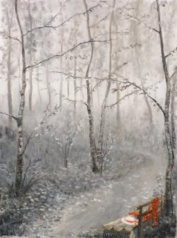 Picturi cu peisaje carari uitate