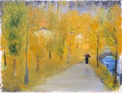 Picturi cu peisaje plecata prin ploaie