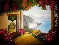 Picturi cu peisaje Vis magic