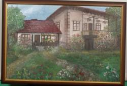 Picturi cu peisaje Casa copilariei pades