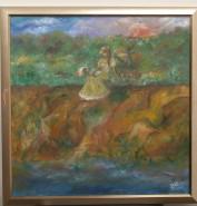 Picturi cu peisaje Picnic