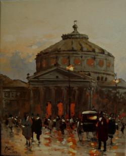 Picturi cu peisaje calea victoriei ateneul roman