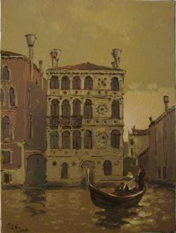 Picturi cu peisaje Palazzo Dario