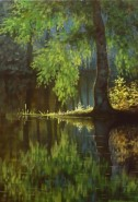 Picturi cu peisaje Dimineata
