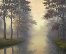 Picturi cu peisaje O noua dimineata