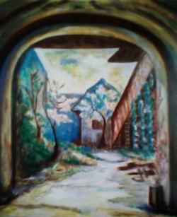 Picturi cu peisaje Undeva..candva