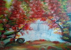 Picturi cu peisaje Culori tomnatice