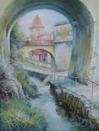 Picturi cu peisaje Dupa ziduri
