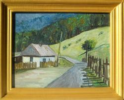 Picturi cu peisaje casuta de la stana