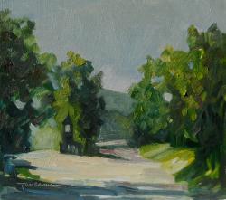 Picturi cu peisaje Drumuri spre Rujinca