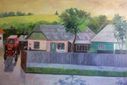 Picturi cu peisaje Intoarcere de la munca,