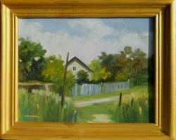 Picturi cu peisaje langa sat 1